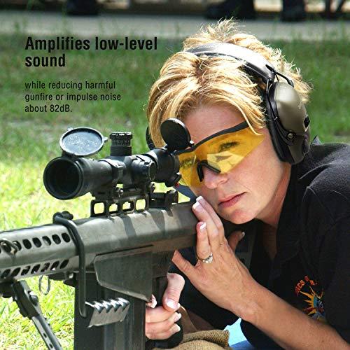 Casque de tir antibruit électronique awesafe GF01 Réduction du Bruit Maximisation du Son Sécurité Electronique Casque… 5