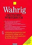 Deutsches Woerterbuch, Wahrig, Gerhard, 3577104465