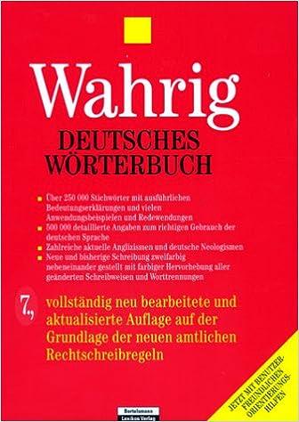 Deutsches Worterbuch (German Edition)