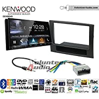 Volunteer Audio Kenwood DDX9904S Double Din Radio Install Kit with Apple CarPlay Android Auto Bluetooth Fits 2006-2008 Ram