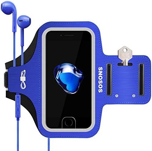 SOSONS Resistant 6 Fingerprint Smartphones Pockets Blue product image