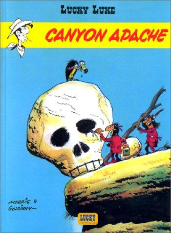 Lucky Luke n° 6 Canyon apache