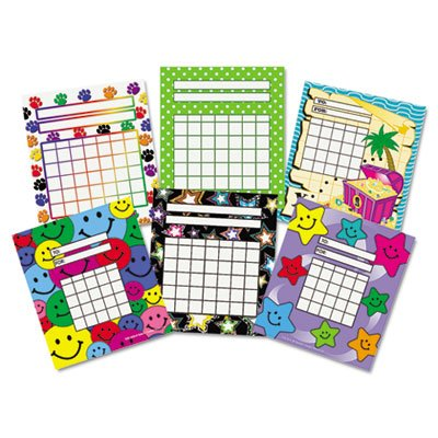 (Individual Incentive Charts, 5-1/4 x 6, 6 Designs, 36/Each, 216/Pack, Sold as 1 Package, 216 Each per Package)