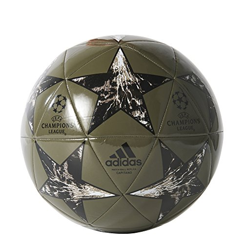 adidas Performance Champions League Finale Capitano Soccer Ball, Trace Cargo/Core Black/Branch/Clay/White, Size 5 (Soccer Ball Size 5 Adidas)