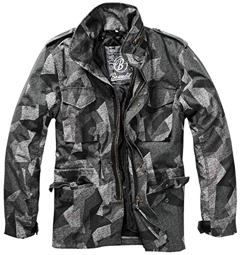 Brandit Men's M-65 Classic Jacket Night Camo Digital Size S