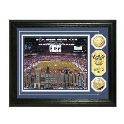 NFL Coin Photomint Framed Graphic Art NFL Team: Indianapolis Colts by Highland Mint