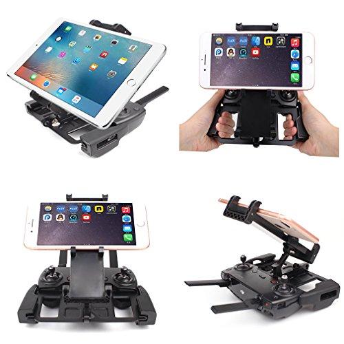 [New Version] AxPower iPad Tablet Holder Mount for DJI Mavic Pro/Mavic Pro Platinum, Spark Accessories Aluminum-Alloy Adjustable Bracket Mount Extender for 4-12 inch Phone/Tablet by AxPower