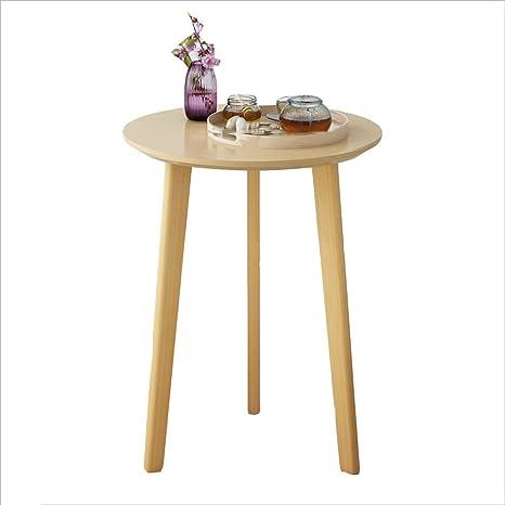Mesa de centro Mesita de Noche pequeña mesita de té de Ocio ...