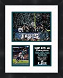 #8: Alshon Jeffery Philadelphia Eagles 2018 Super Bowl LII (52) Champions Framed 11 x 14 Matted Collage Framed Photos Ready to hang