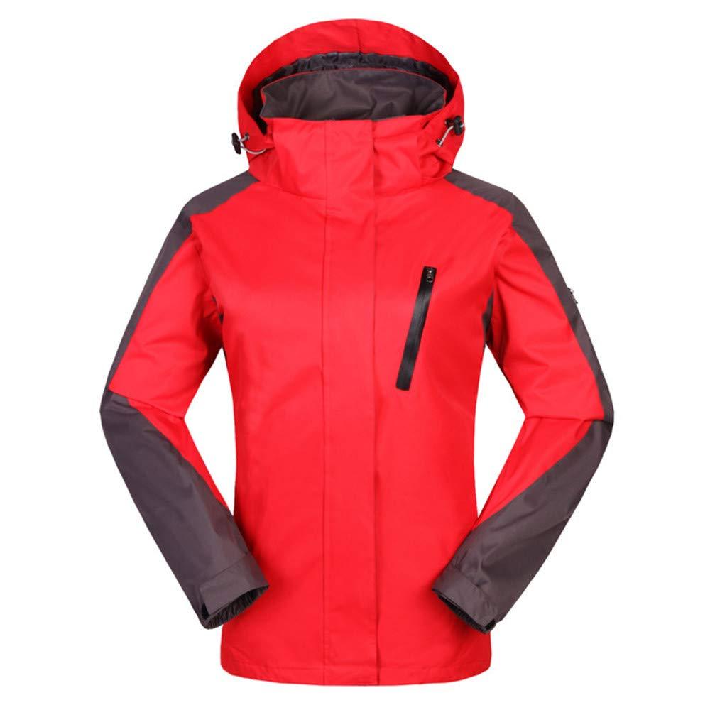 AiNaMei Outdoor-Jacke für Herren, die einen Bergsport-Skianzug verdickt