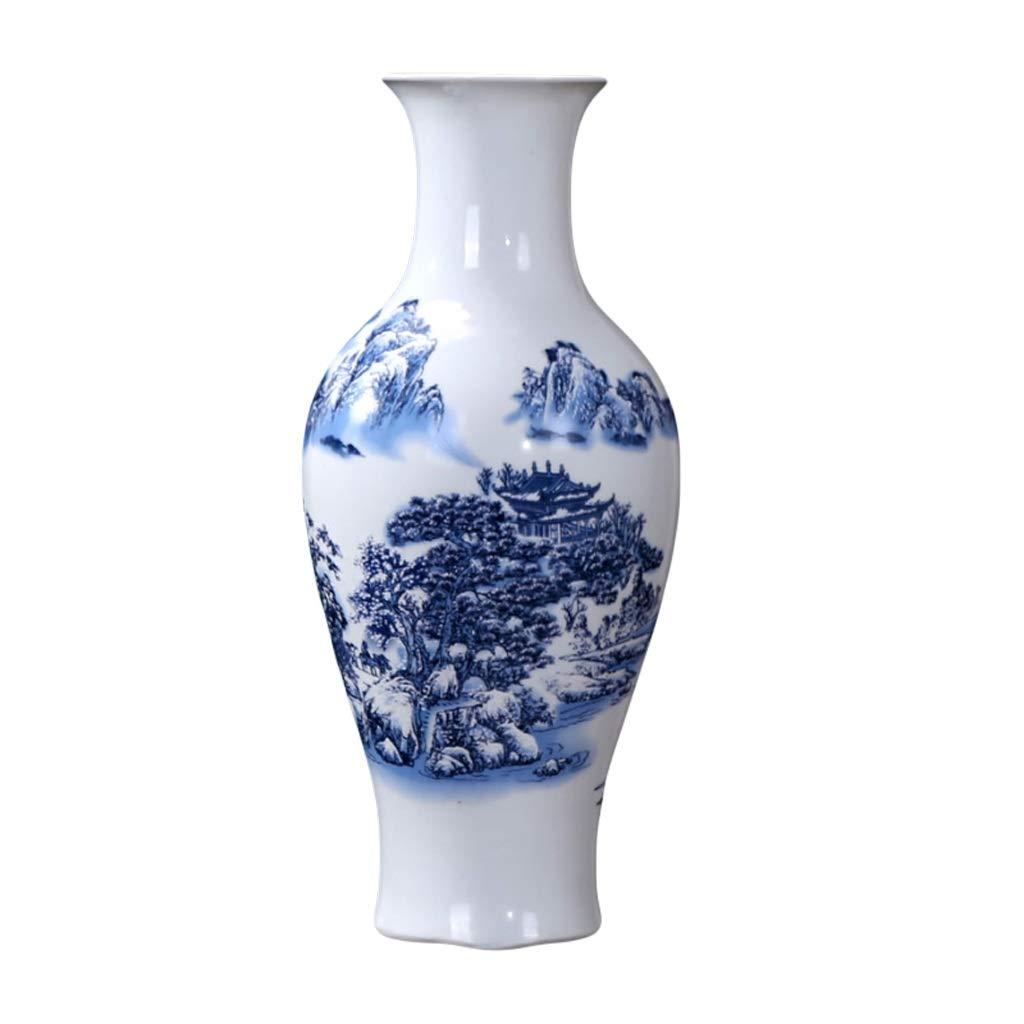 LIULIJUN 花瓶セラミックス西山旅行床サイズ花瓶リビングルームのカウンターデコレーションホームデコレーション (Size : S) B07TB11132  Small