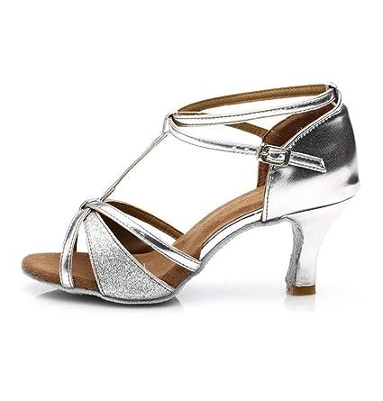 El Salón De Para En Zapatos Latino Tacón Adultos Baile E2IbDYeH9W