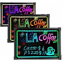 ElecNova Electronic Illuminated Flashing LED Message Sign Writing Board