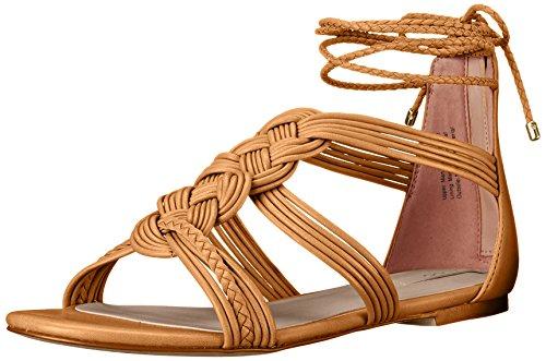 Aldo Women's Rosania Flat Sandal, Light Brown, 8 B US