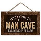 Highland Graphics Decorative Wood Sign (Man Cave)