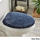 Mohawk Home Spa 1' 4.5'' x 1' 6.5'' Toilet Lid Cover in New Blue