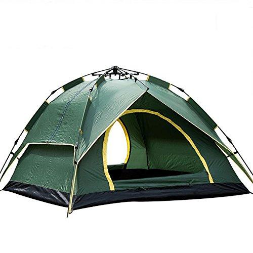 孤独メロドラマティックエンジニア屋外兼用3-4人キャンプキャンプレジャーテント自動テントテント