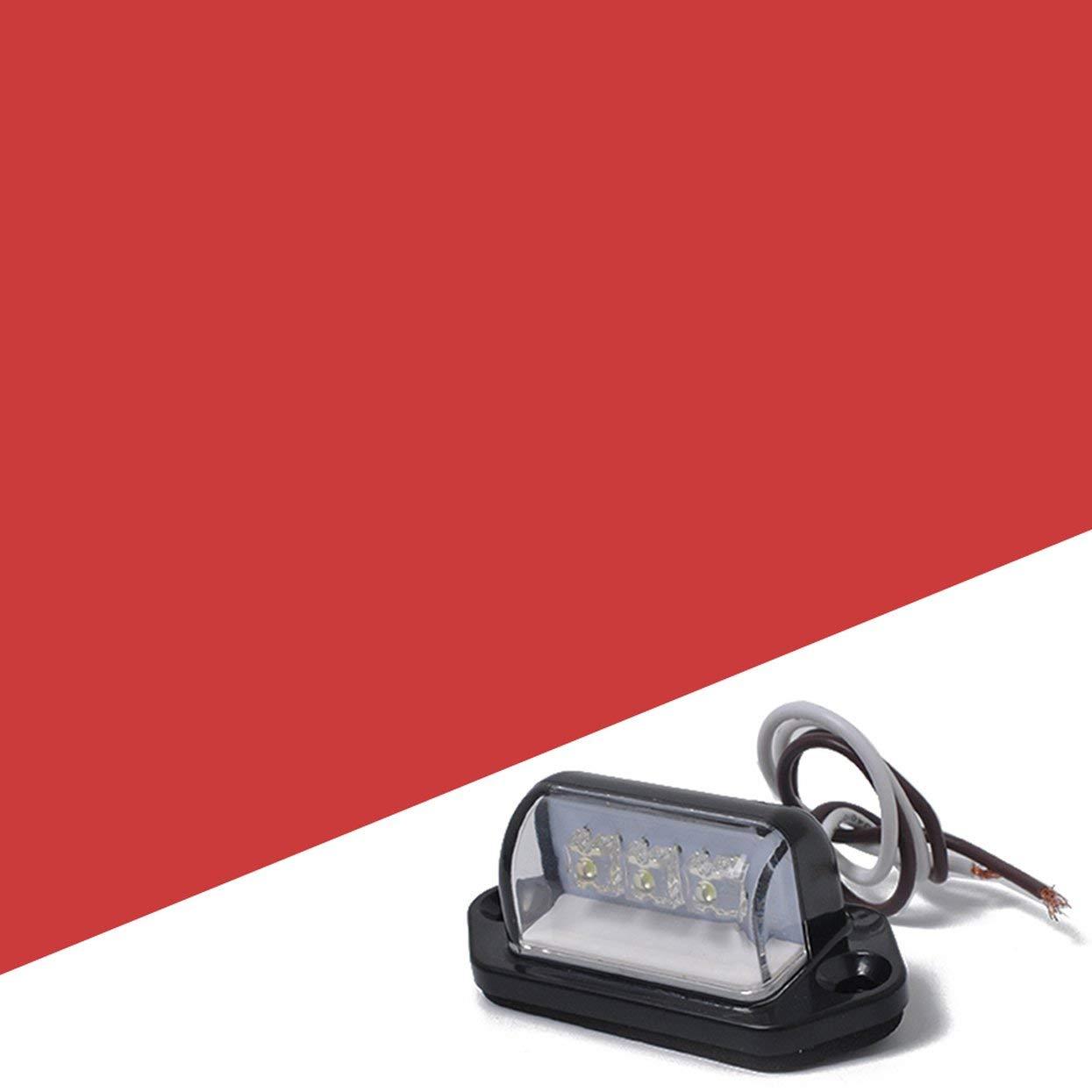 Tree-on-Life La Plaque min/éralogique de LED Allume Les lumi/ères LED Super Lumineuses pour la lumi/ère de permis dautomobiles de Motos de remorques de Camion