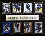 NHL Colorado Avalanche All-Time Greats Plaque