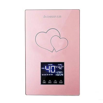 Water heater Calentador de Agua instantáneo - baño pequeño baño de Ducha de Calentamiento rápido Agua