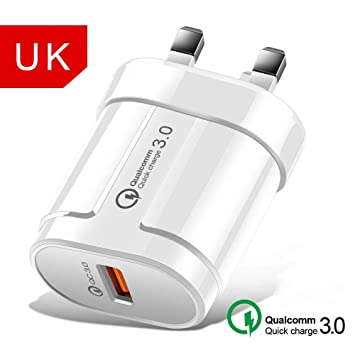 YHML Fast Charge 3.0 USB Charger QC 3.0 Fast Charge EU US ...