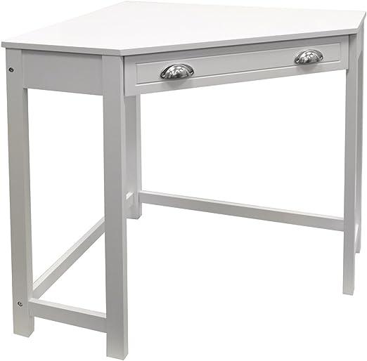 Haven - Mueble de esquina de madera compacta, para escritorio de ...