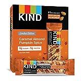 KIND Bars, Caramel Almond Pumpkin Spice, Gluten