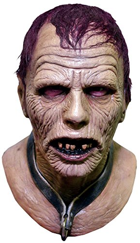 Bub The Zombie (UHC Men's Day of the Dead Zombie Bub Scary Theme Party Latex Halloween Mask)