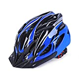 IFLYING Eco-Friendly Super Light Integrally Bike Helmet,Adjustable Lightweight Mountain Road Bike Helmets for Men and Women (Blue)