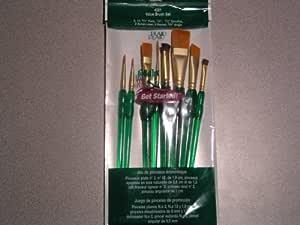 Folk Art One Stroke 4321 Value Brush Set of 8