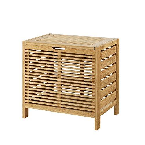 Cheap Kiruna Bamboo Hamper with Lid supplier