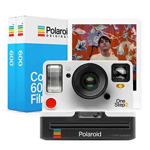 Polaroid Originals 9008 OneStep 2 VF Instant Film Camera, White with Originals Instant Color Film for 600 – Double Pack, White (4841)