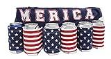 Novelty Beverage Holder Beer Belt (Merica)