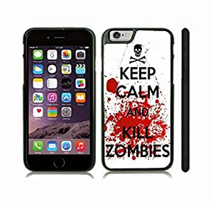 iStar Cases? iPhone 6 Plus Case with Simple Mustache Center on White Background , Snap-on Cover, Hard Carrying Case (White)