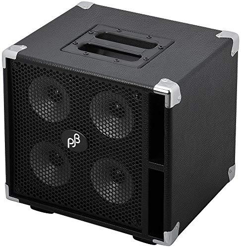- Phil Jones Bass Compact 4 400W 4x5 Bass Speaker Cabinet Black