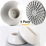 4 Pack Wall Cups for Baby Gates, Wall Protection Guard...