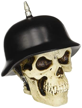 Amazon com: American Shifter 32 Das German Helmet Skull