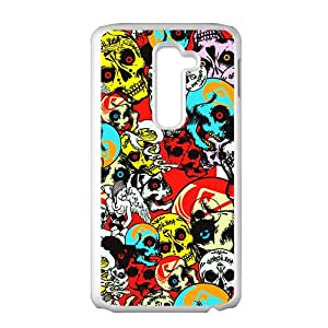 JIANADA Colorful Skull Hot Seller High Quality Case Cover For LG G2