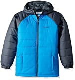 Columbia Boys' Little Tree Time Puffer Jacket, Peninsula, Graphite, XX-Small