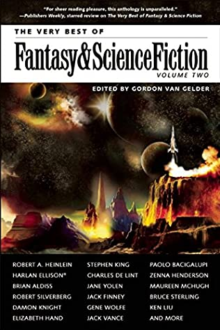 book cover of The Very Best of Fantasy & Science Fiction, Volume 2