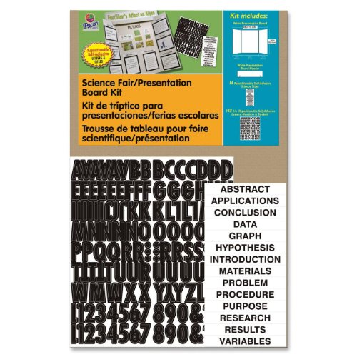 Display Headers Corrugated Presentation - Pacon Corrugated Presentation Board Kit, 48