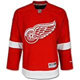 Detroit Red Wings Home Red Adult Reebok Premier 4X Jersey
