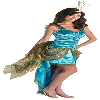 Princess Peacock Adult Costume Size 8-10 Medium