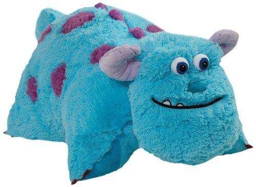 "Pillow Pets Authentic Disney 18"" Sulley, Folding Plush Pillo"