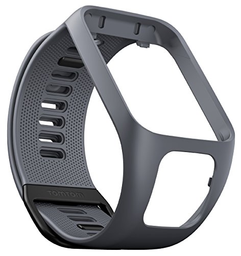 TomTom Spark GPS Fitness Watch Accessory Strap (Grey, Large)