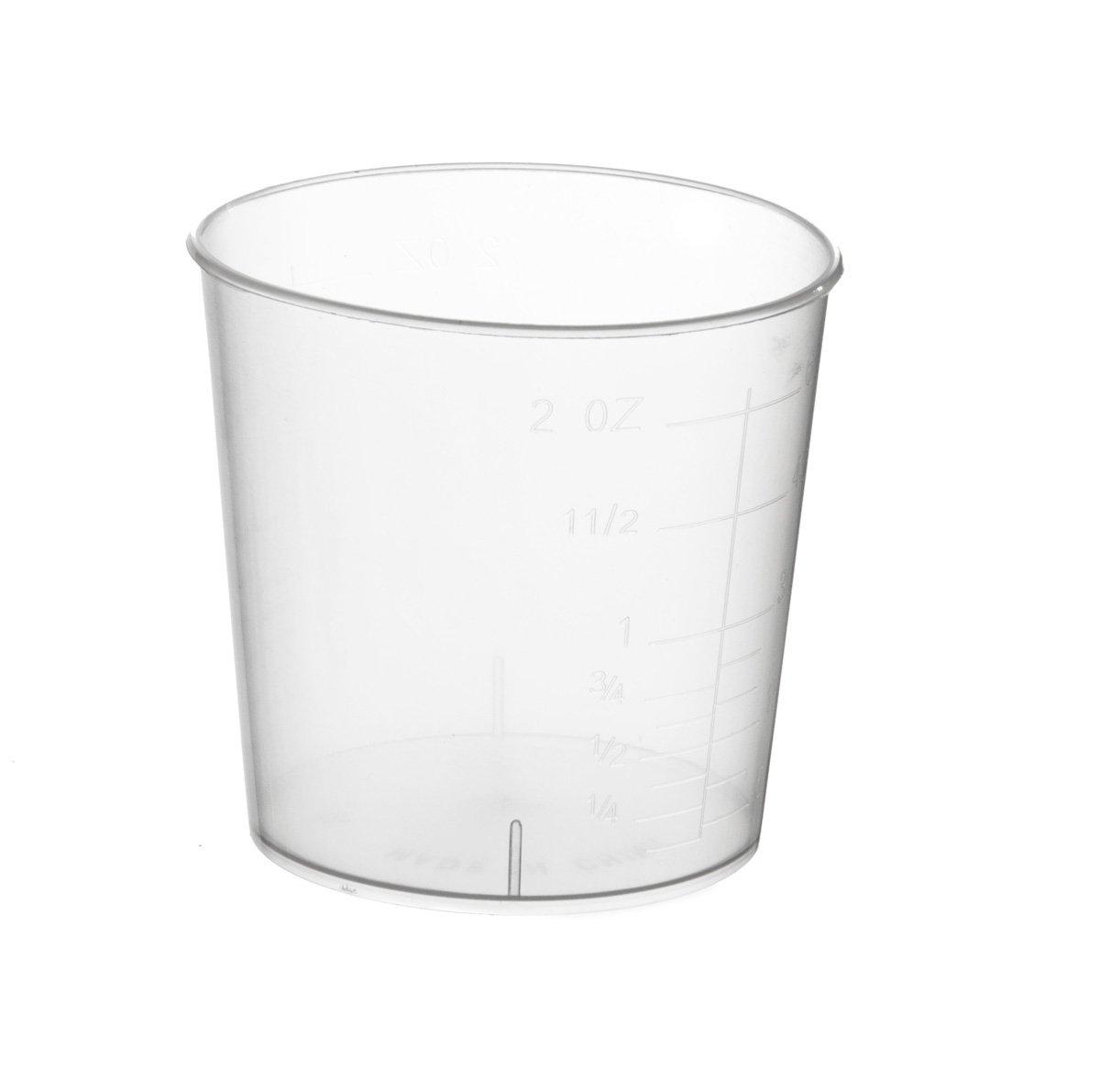 Medline DYNJ05195 Sterile Graduated Plastic Medicine Cups (Pack of 100)