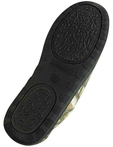 Pista Nord - Pantofola Mimetica Da Uomo In Camoscio Oliva