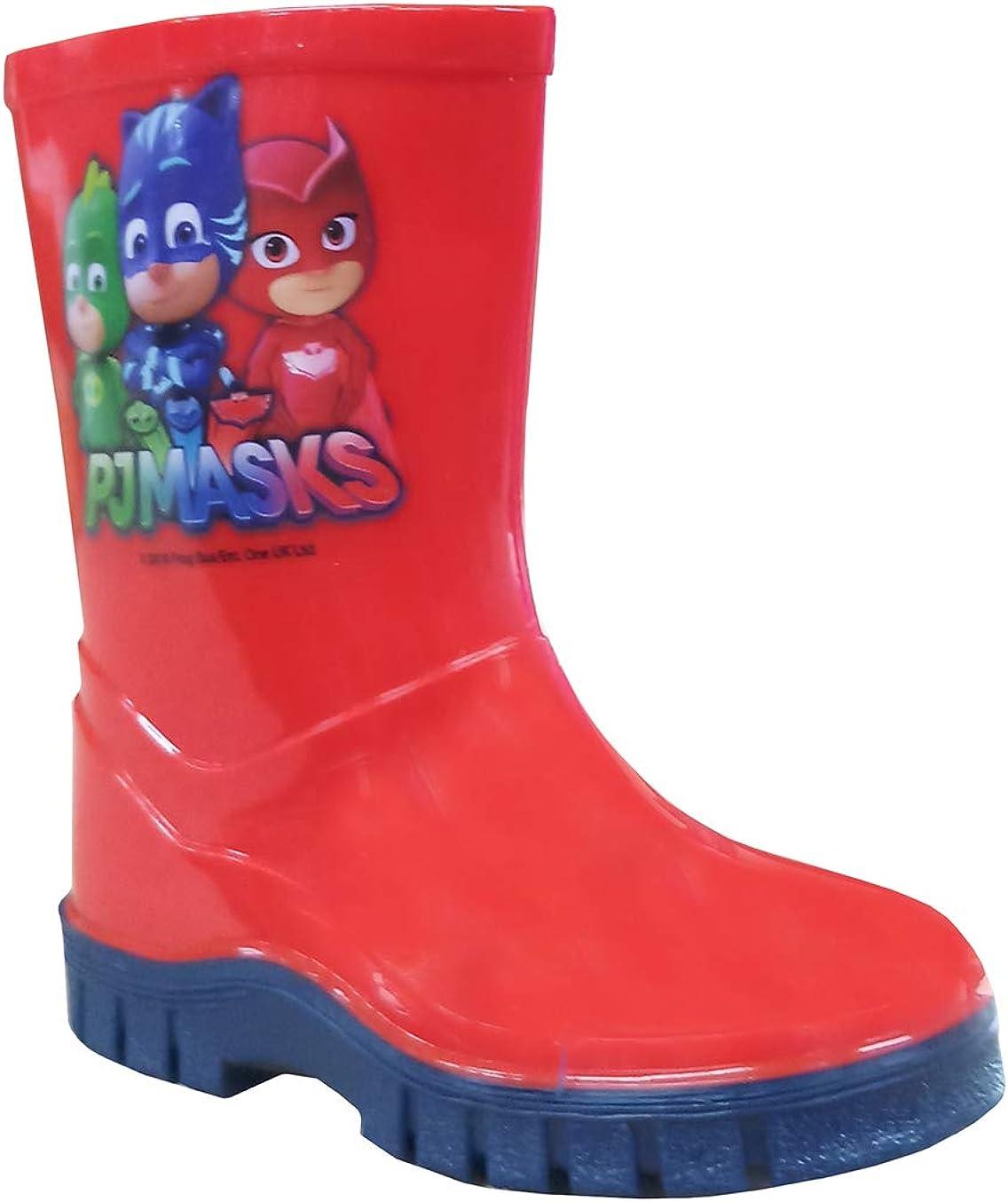 Kids Red Wellies Boots Paw Patrol Lightweight 11