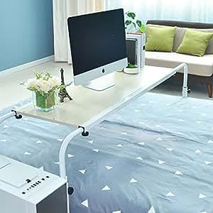 Soges mesa de ordenador portatil con ruedas sof mesa - Mesa de ordenador con ruedas ...