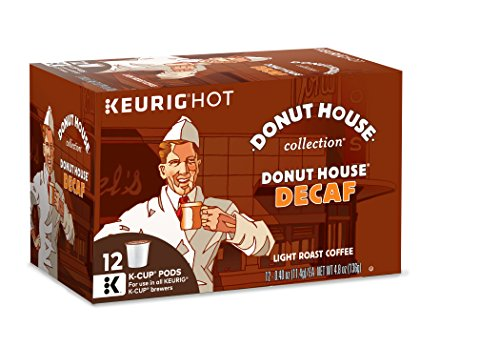 Donut House Collection Donut House Decaf, Keurig K-Cups, 12 Count (Pack of 6)